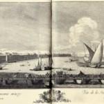 Проспект в низ по Неве реке от Невского моста между Исакиевской церковью и корпусом кадетским