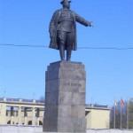 Памятник С. М. Кирову в Приморском парке победы
