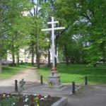Крест в память о церкви святой Параскевы