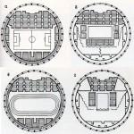 Возможные схемы организации арены