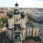 Владимирский собор, вид с колокольни