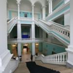 Парадная лестница здания ВСЕГЕИ